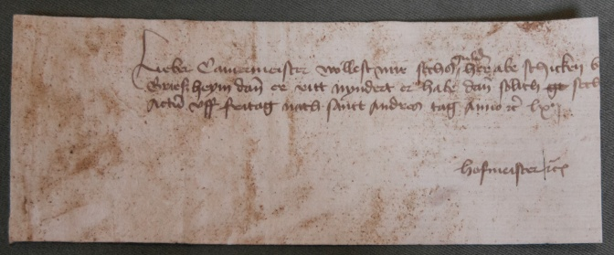 A Hidden Medieval Archive Surfaces