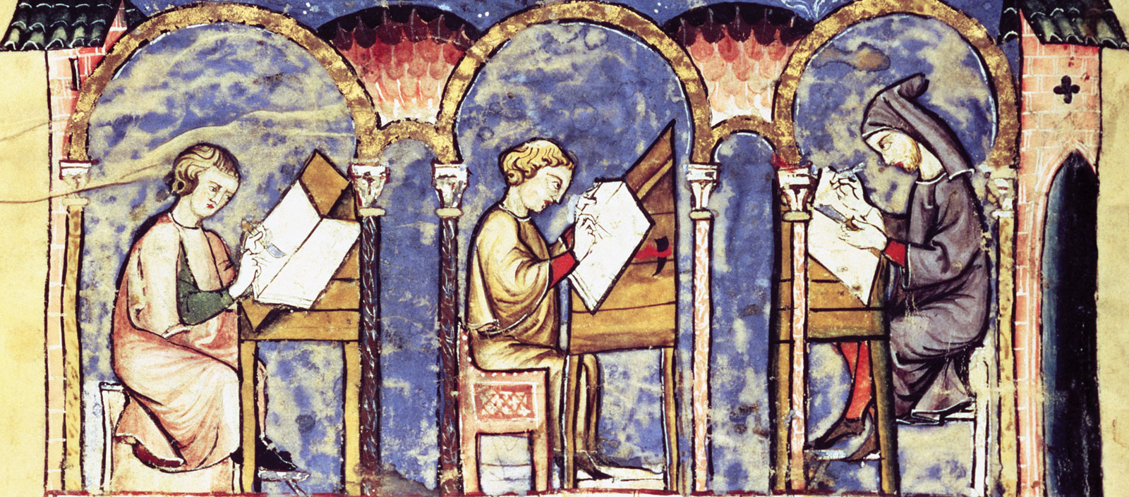 art and society in the high middle ages 1the middle ages was a period from the 5th to 16th centuries the renaissance was the period between the 14th and the 16th centuries 2the printing press was used in the renaissance age whereas parchment was used in the middle ages.