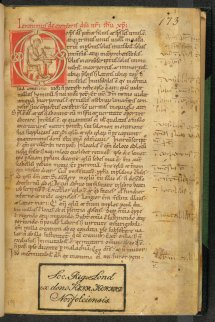 Opening page of British Library, Arundel MS 173 (fol. 1r)