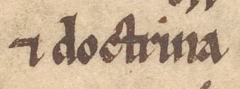Fig. 2 - Tironian abbreviation for 'et' (Sloane 2424)