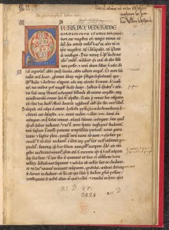 Fig. 1 - Opening page of British Library, Sloane MS 2424 (fol. 1r)
