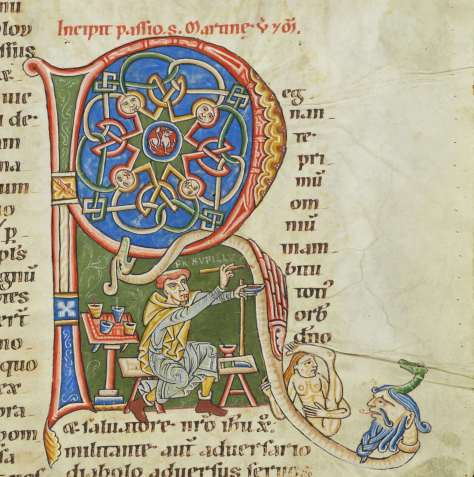 Cologny, Fondation Martin Bodmer, MS 127, fol. 244r