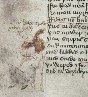 Oxford, Bodleian Library, Douce 104, fol. 52v (dated 1427)