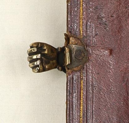 Book clasp, 18th century (?) -