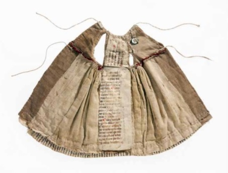 Dress made in Cistercian abbey of Wienhausen, Germany