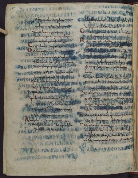 Wolfenbüttel, Herzog August Bibliothek, Guelf. 64 Weiss. (9th century)