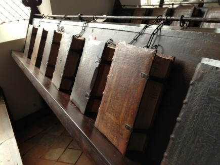 The chained library in Zutphen, the Netherlands (De Librije)