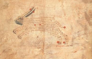 British Library, Harley 647, fols. 9r (9th century)