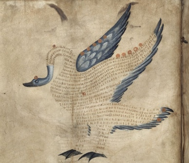 British Library, Harley 647, fols. 9r (9th century)
