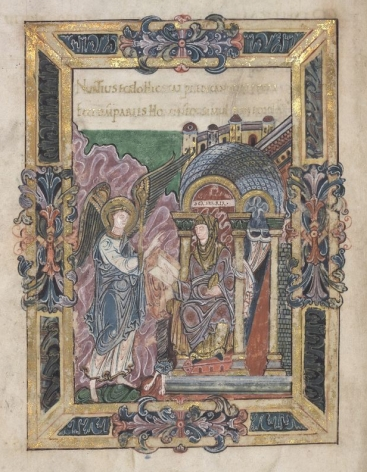 London, British Library, Add. MS 49598 (Benedictional of Aethelwold, 936-984)