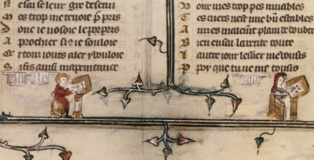 Paris, BnF, fr. 25526, fol. 77v (1325-1350)