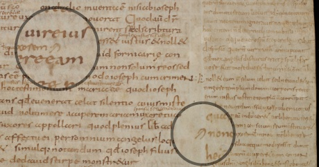 St Gall, Stiftsbibliothek, MS 4, fol. 170r (10th century)