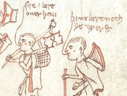 British Library, Stowe 49, fol. 122r, detail