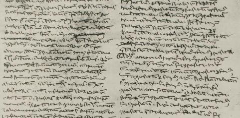 Vatican Library, Vat. Lat. 9850, autograph Aquinas, 1260-1265