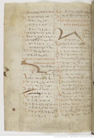 Paris, BnF, lat. MS 190 (9th century)