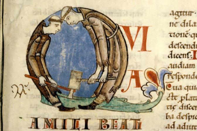 Medieval Letter-People