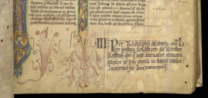 British Library, Royal MS 2 C.i (written c. 1220)