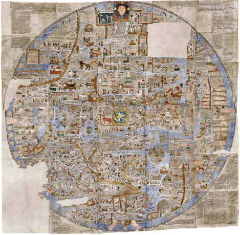 Ebstorf Mappa Mundi (13th century)
