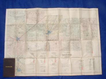 R. Sutton, Petroleum Pocket Map (1886)