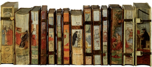 Fore-edge decoration by Cesare Vecellio