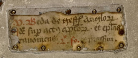 San Marino, Huntington Library, MS HM 35300, fenestra