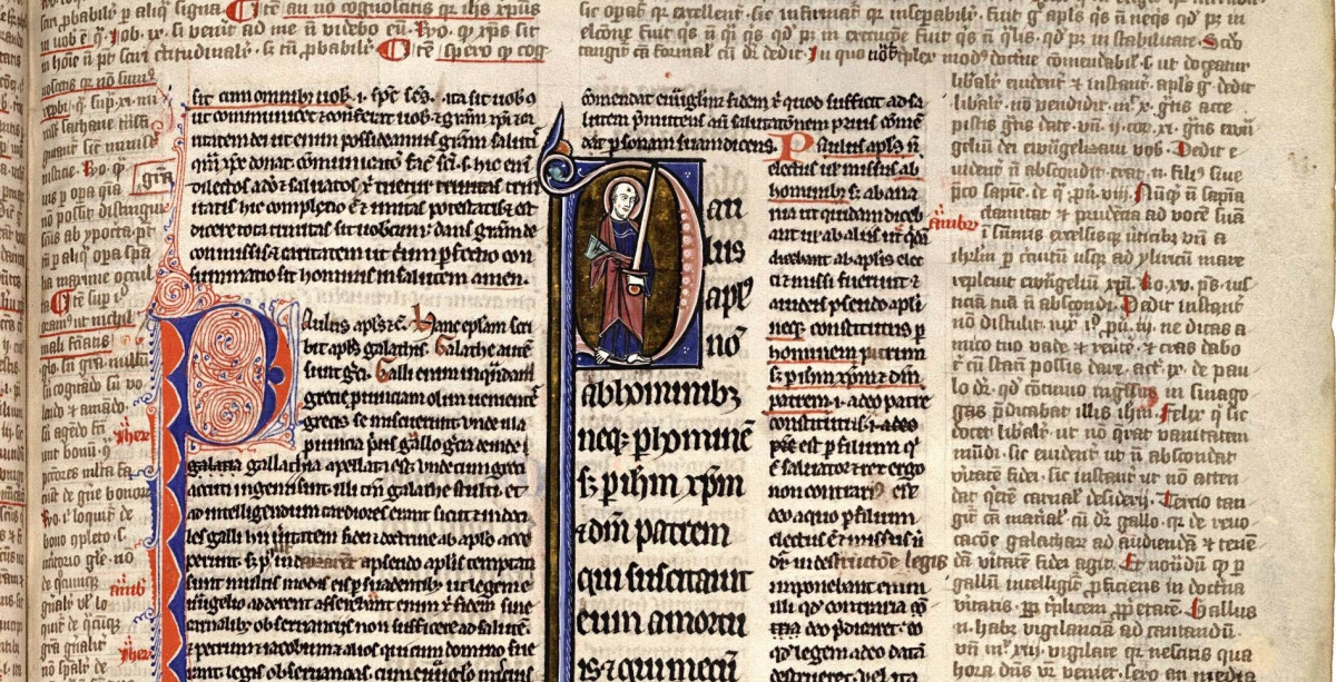 The Architecture of the Medieval Page